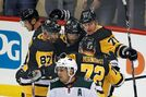 Crosby collects 4 points in return, Penguins rip Wild 7-3