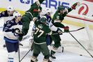 Controversial goal propels Wild to 3-2 OT victory over Jets