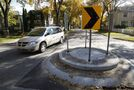 Traffic circles causing confusion