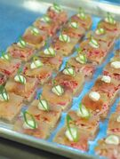 Smoked Whitefish Canape. THE CANADIAN PRESS/ho-HarperCollins Canada-Jo Dickins