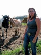 Sarah Southwell, owner of Hi Point Horsemanship in Dacotah (shown at right), and Kari Hasselriis, an equine first aid instructor from St. Francois Xavier, are organizing a series of clinics designed to address common issues for horse owners and riders.