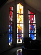Jan 14, 2015 - Stained glass windows at Holy Redeemer Parish, which celebrates its 50th anniversary this year. (SHELDON BIRNIE/CANSTAR COMMUNITY NEWS/HERALD)