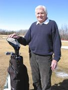 Ron Chatfield, president of the Heather Senior Men's Golf Club, is hoping individuals will attend the club's annual registration meeting on April 9.