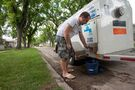 Century-old water main breaks, leaving 38 West End properties without water