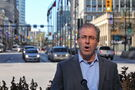 Steeves vows to keep Portage and Main closed to pedestrians