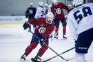 Josh Morrissey back on the ice with the Jets