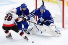 Maple Leafs rebound after embarrassing collapse, grind out 2-1 victory over Senators