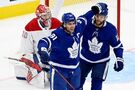Maple Leafs captain John Tavares leaves Game 1 vs. Canadiens on stretcher