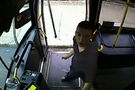 Police looking for suspect in video of bus driver attack