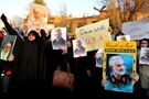 Anger in Iran over jet's downing; gunfire disperses protests