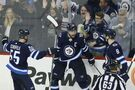 Wheeler's 200th the deciding goal in Jets victory over Wild