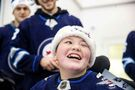 Jets make memories at children's rehab centre