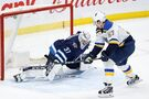 Jets match Blues but fall 5-4 in OT