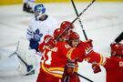 Gaudreau scores twice in Flames' 4-2 come-from-behind victory over Maple Leafs