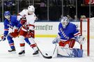 Fox, Lundqvist lead Rangers to 3-2 win over Hurricanes