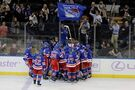 Rangers edge Wild 3-2 in OT, Lundqvist 5th on wins list