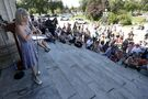 'There's a lot to change': Residents march for improved mental-health services