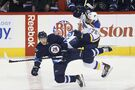 Jets hit all the right notes in 5-3 win over Blues
