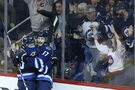 Perreault's two points lead Jets to victory