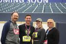 Running marathon together creates memories for family