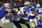 Ticats ground Harris, Bombers' running game