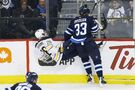 Byfuglien bitter about brief ice time against Buffalo
