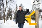 Report advises city to accept private donor's gift of school-zone lights