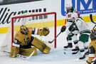 Talbot makes 27 saves, leading Wild past Golden Knights 2-1