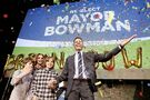 'We did it again': Winnipeg Mayor Brian Bowman wins second term