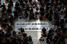 Hong Kong airport shuts down amid pro-democracy protest