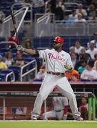 Philadelphia Phillies slugger Ryan Howard slumped badly last season. Family matters may have been a contributing factor.