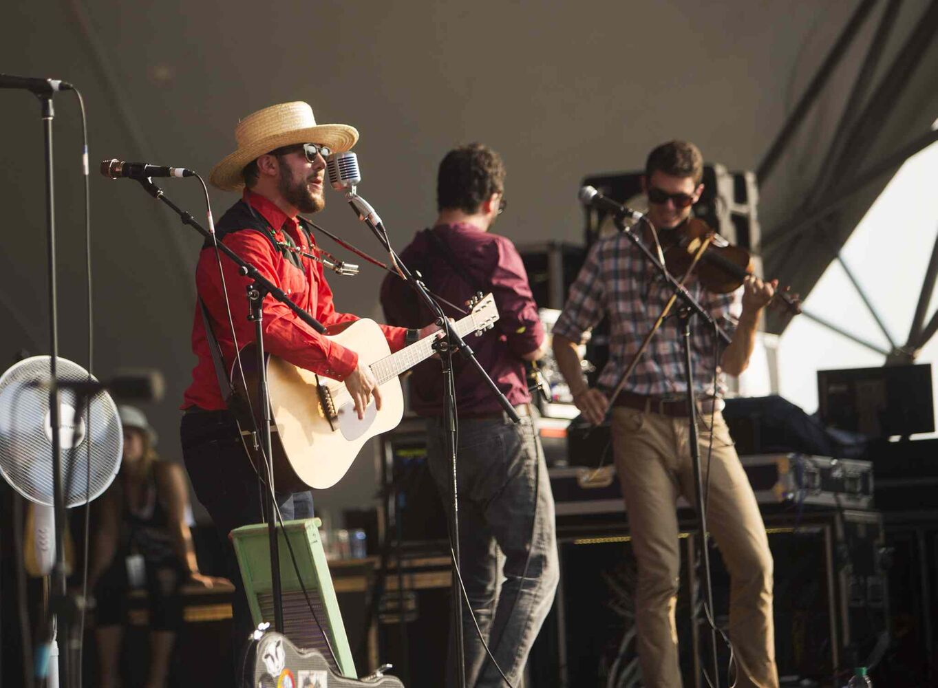 Dustbowl Revival plays at the Winnipeg Folk Festival in Birds Hill Park on Friday, July 10, 2015.   Mikaela MacKenzie / Winnipeg Free Press (Winnipeg Free Press)