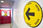 Elections Canada reported disruptions at some polling stations as Canadians voted
