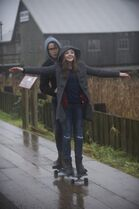 """Jamie Blackley and Chloe Grace Moretz in a scene from """"If I Stay."""" THE CANADIAN PRESS/ho-Warner Bros. - Doane Gregory"""