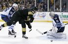 Bruins' hustle schools Jets