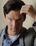 FILE - In this Sept. 8, 2013 file photo, actor Benedict Cumberbatch poses for a portrait during the 2013 Toronto International Film Festival in Toronto. Cumberbatch stars as Alan Turning, a World World II code breaker in