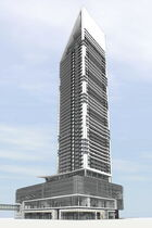 Developers revealed the latest rendering of SkyCity Centre, which could become the tallest building between Toronto and Calgary.