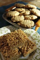 SunButter Rice Krispies Squares and SuperButter Cookies.