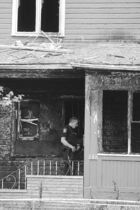 Five people died in this rooming-house fire in July 2011. Lulonda Flett had argued her life sentence was excessive.