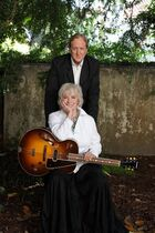 This undated photo provided by courtesy of Rogers & Cowan shows the Tony-winning stage-musical veteran Betty Buckley, left, and producer T-Bone Burnett. Buckley teamed-up with Burnett for the album