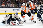 Giroux's power-play goal lifts Flyers past Blue Jackets 3-2