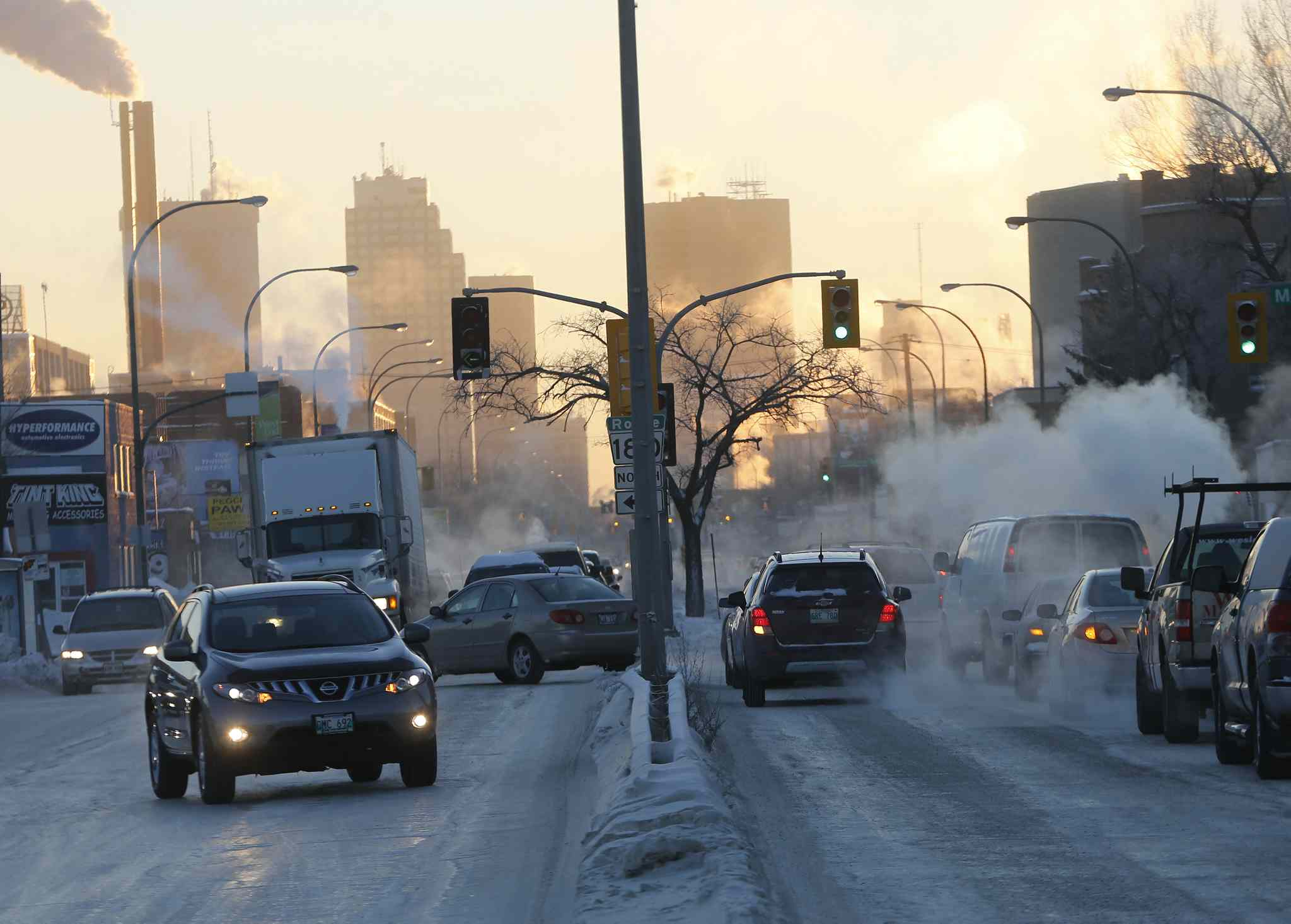 Motorists are advised to prepare for slow going due to extreme cold, ice fog , and icy road conditions this morning.
