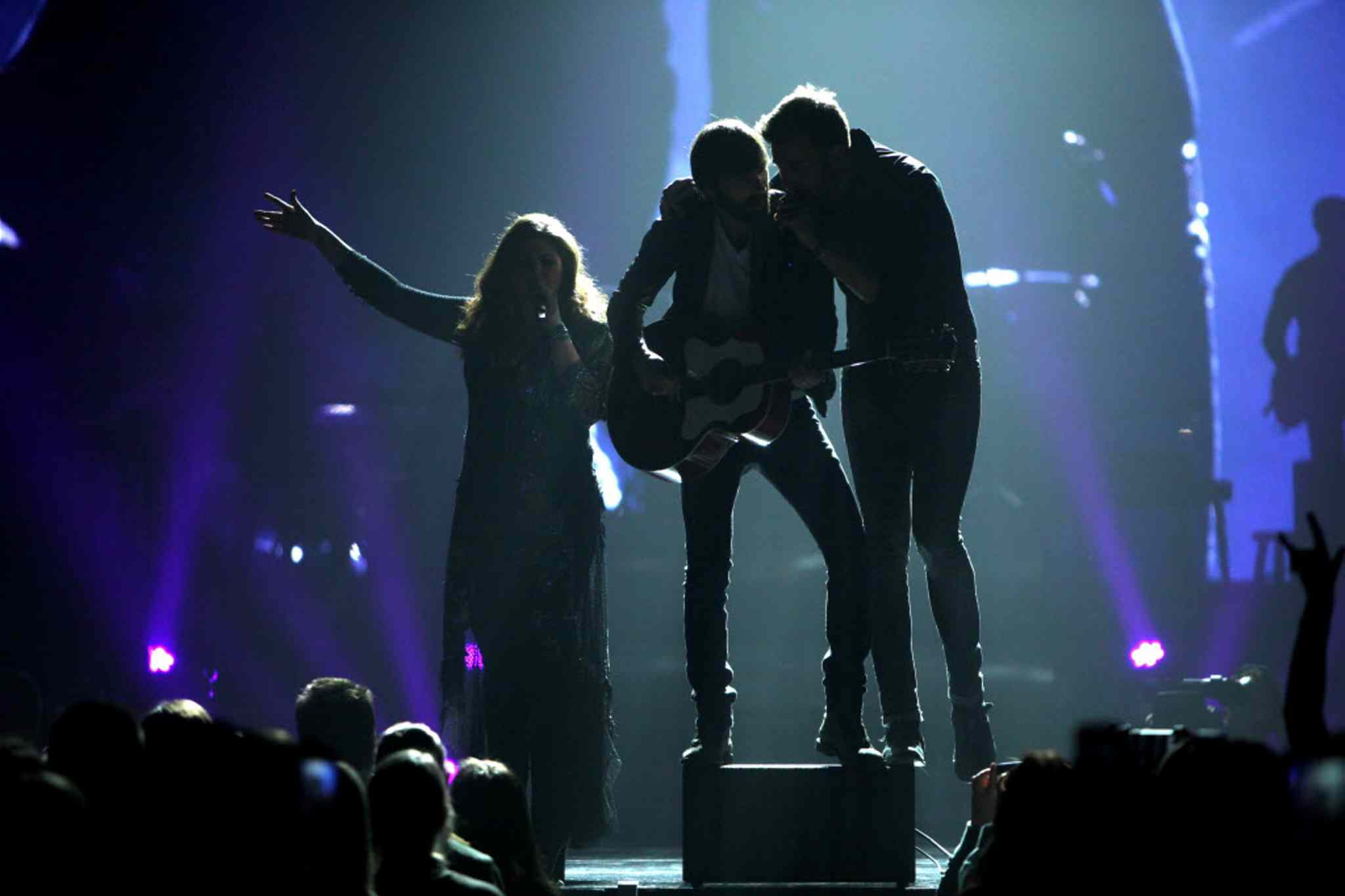 Lady Antebellum performs at the MTS Centre Wednesday evening, filling their set with huge hits, lesser-known gems, and notable covers.
