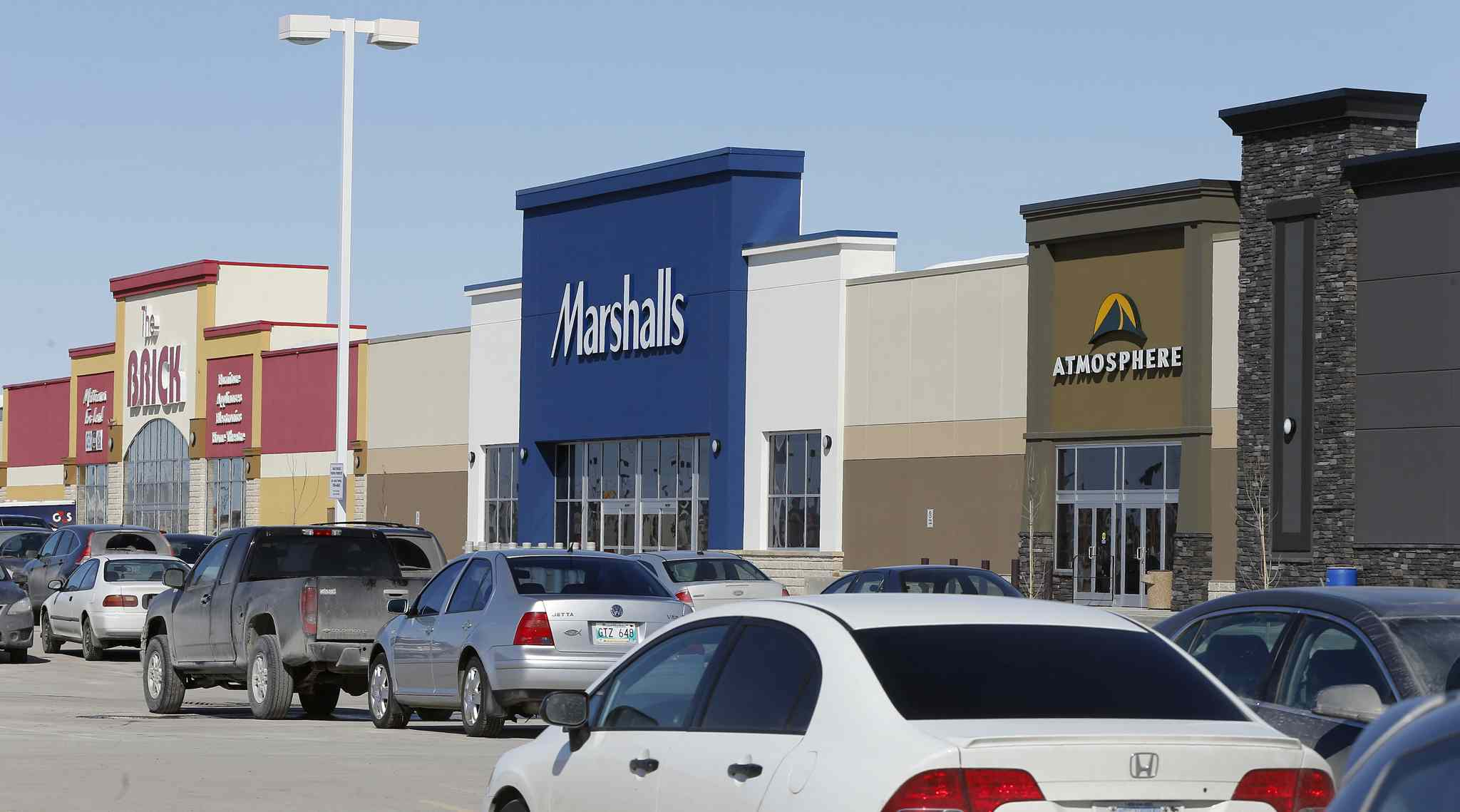 The 28,100-square-foot Marshalls store in Linden Ridge Shopping Centre is scheduled to open March 27.
