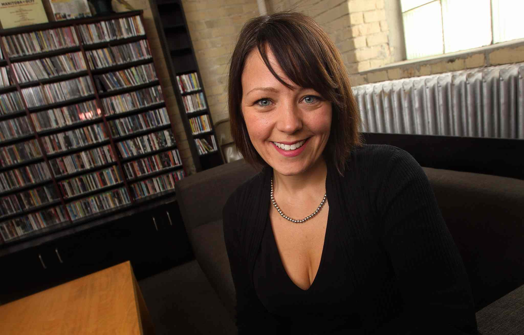 "Sara Stasiuk (pictured) ""has been fundamental to Manitoba Music's success, strength, and growth throughout her 13 years with us,"" says Manitoba Music's president, Paul Jordan."