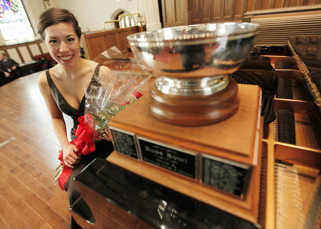 Singer Andrea Lett moved to Winnipeg five years ago from Prince Albert, Sask. to study at the University of Manitoba.