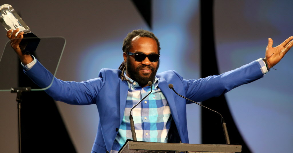 Excolevi wins Reggae Recording of the Year.  (TREVOR HAGAN / WINNIPEG FREE PRESS)