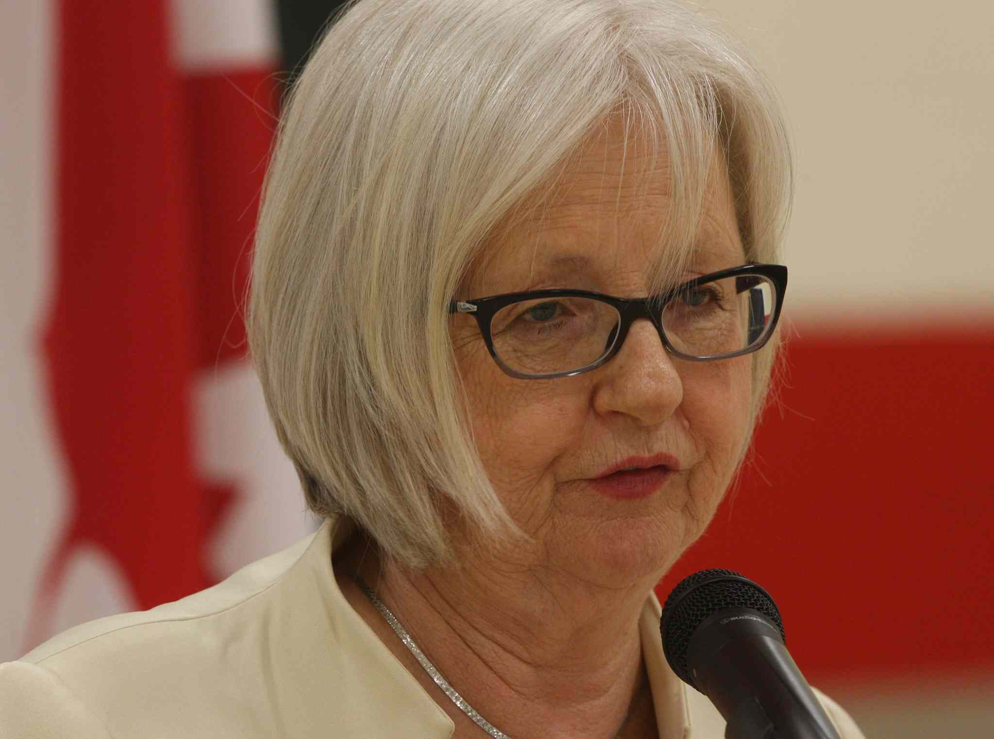MP Joy Smith announced $7.5 million in funding today towards a UNICEF health education initiative.