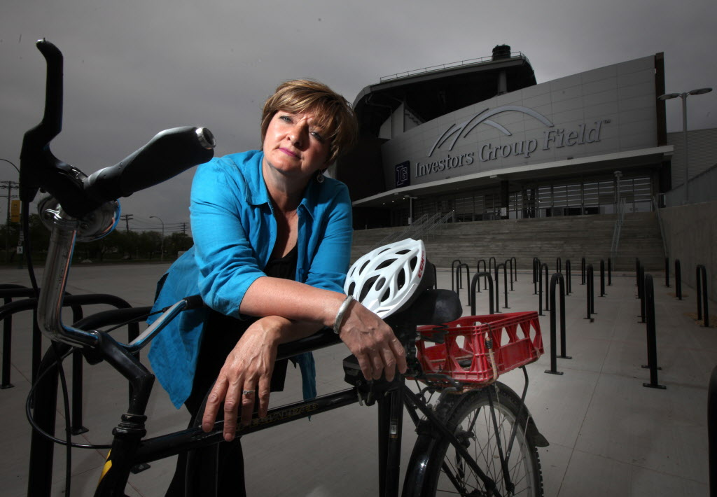"""""""In the big picture, active transportation is never front and centre. We need leadership on this file,'""""cycling advocate Janice Lukes says."""