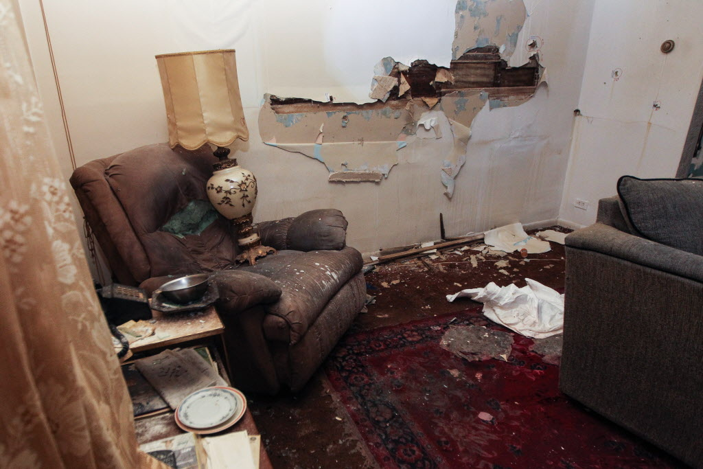 The interior of 512 Stella Avenue. (MIKE DEAL / WINNIPEG FREE PRESS)